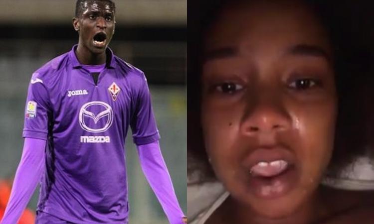 Picchiata in un locale, accusa un ex calciatore della Fiorentina: 'Diakhate mi ha aggredita'. La replica: 'Legittima difesa'
