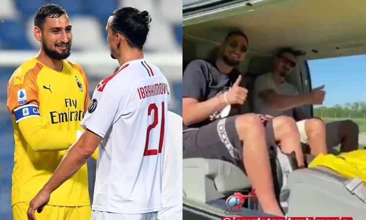 Milan, Ibrahimovic con Donnarumma a Montecarlo da Raiola: si decide il futuro