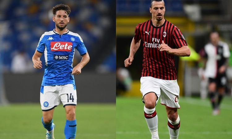 Napoli-Milan 1-3: il tabellino