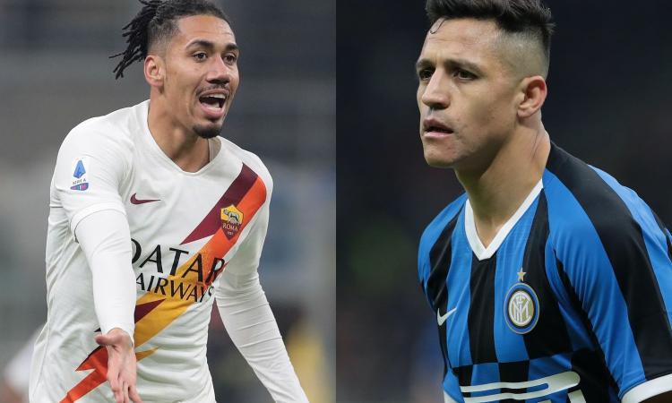 UFFICIALE: Smalling alla Roma e Sanchez all'Inter fino a inizio agosto. Lo United non vuole trovarseli contro in Europa