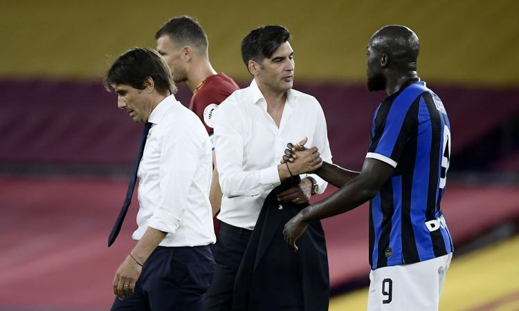 Roma-Inter, all'Olimpico i peggiori sono Fonseca e Conte