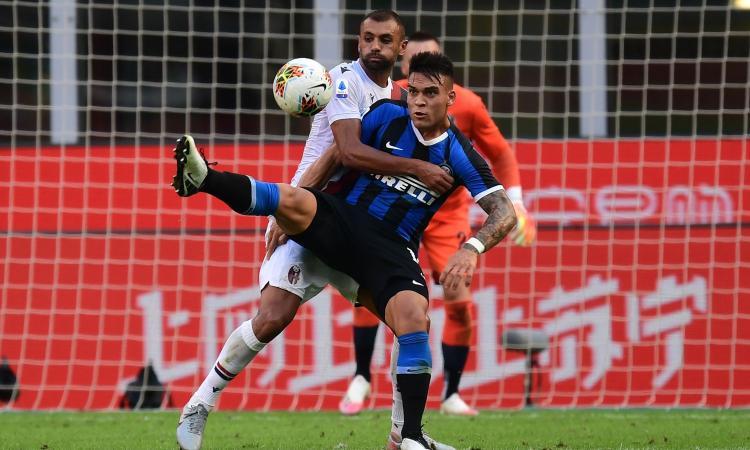 Inter-Bologna, le pagelle di CM: Eriksen e Lautaro affondano Conte. Skorupski gigante, Barrow colpisce
