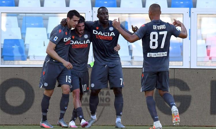 Udinese, vittoria salvezza: Spal battuta 3-0 e sempre più vicina alla Serie B