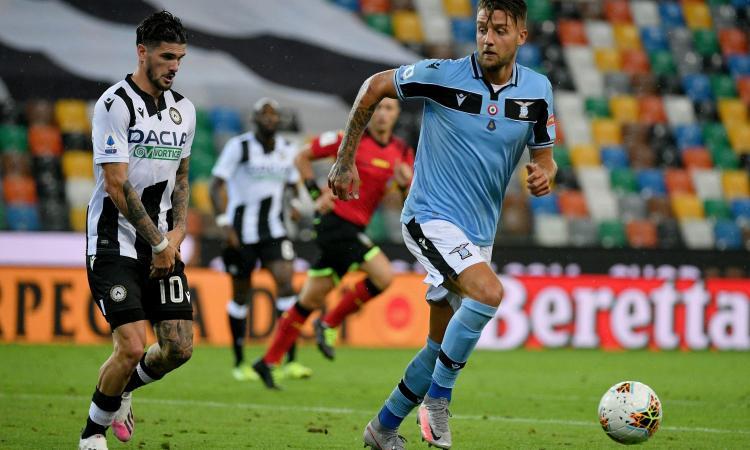 Pari e noia: 0-0 a Udine, la Lazio non vince più e perde il secondo posto