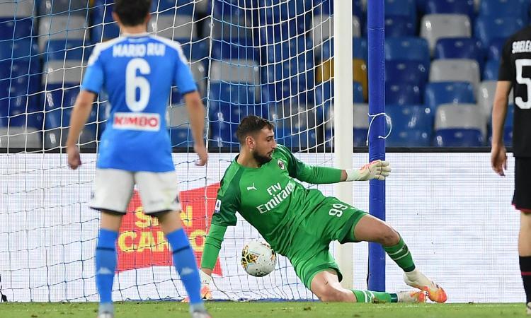Quando Donnarumma torna Paperumma: dal derby alla finale con la Juve, gli errori del portiere del Milan