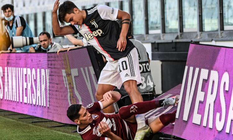 Juve-Torino, la MOVIOLA: De Ligt e Dybala saltano il Milan. Il Var dà rigore al Toro, Belotti ne chiede un altro