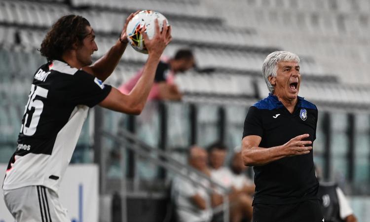 Atalanta, Gasperini: 'I rigori per la Juve? Gli episodi arbitrali hanno fatto la differenza per lo scudetto'