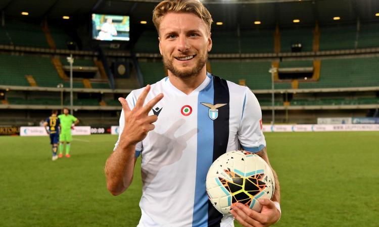 Immobile: 'Mi voleva il Newcastle, ma ho scelto la Lazio a vita'