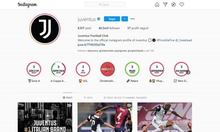 Juve, sei già campione d'Italia: è la numero uno dei social network