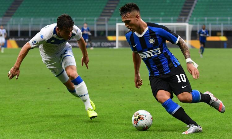Svuotato e distratto dal mercato, l'Inter fissa il prezzo per Lautaro