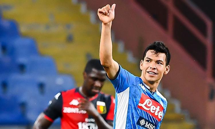 Napoli, spunta la notizia di mercato: una big inglese vuole Lozano!
