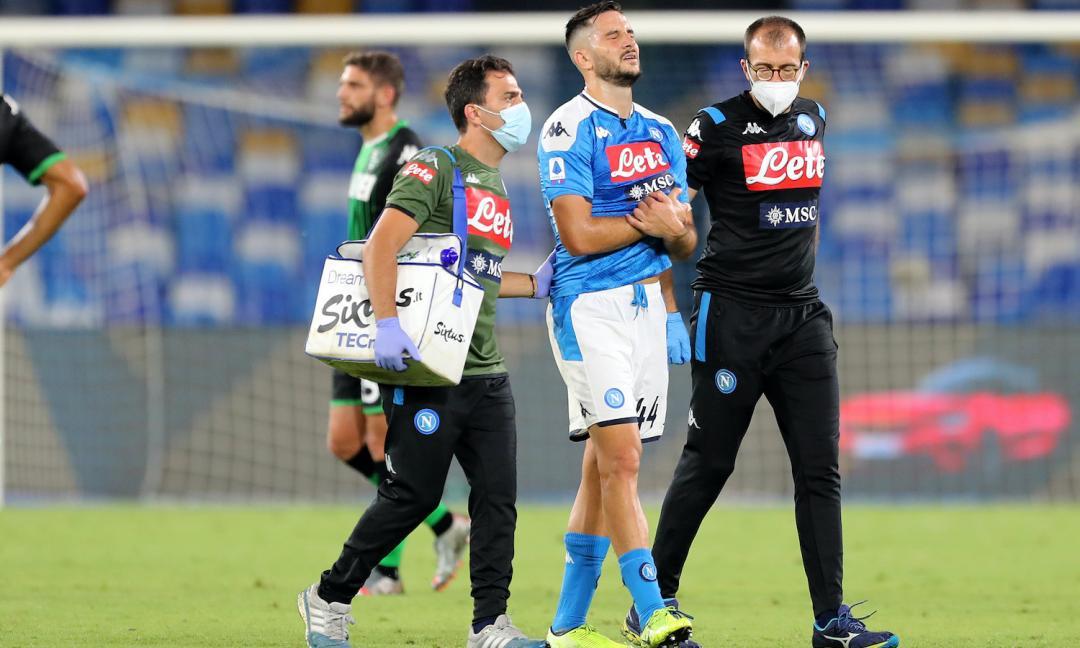 Il Napoli continua a perdere pezzi: le condizioni di Manolas