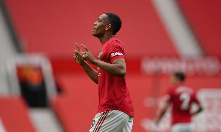 Lo United vola anche grazie a Martial. E l'Inter non lo perde di vista