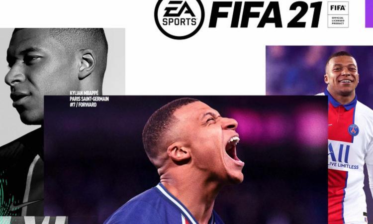 Fifa 21, svelata la copertina: c' Mbappé