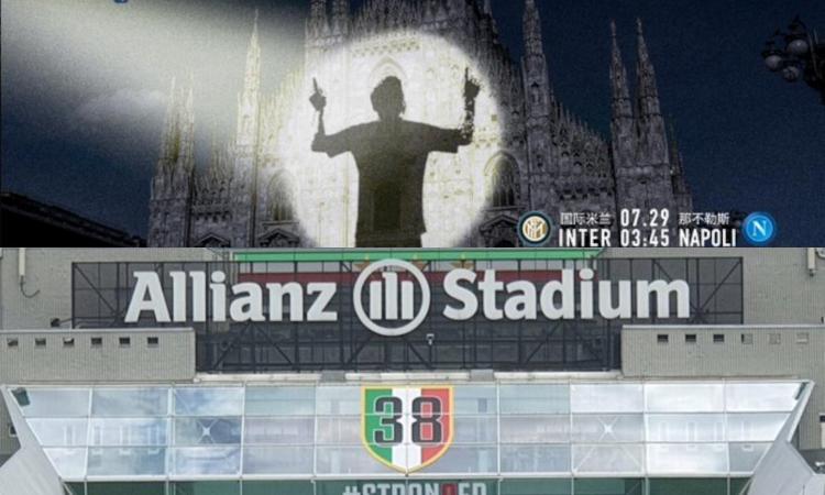 Intermania: la Juve sfoggia 38 scudetti, Suning può 'usare' Messi. Marotta con CR7...