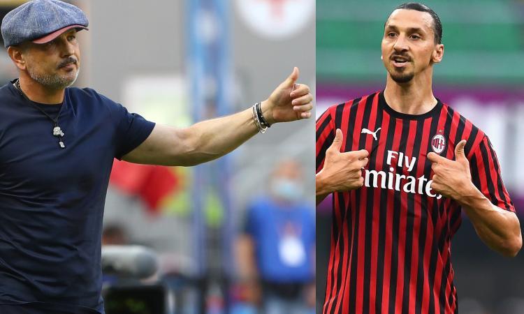 Milan-Bologna, Mihajlovic: 'Ibra abbi pietà, abbiamo rischiato di picchiarci e in futuro...'