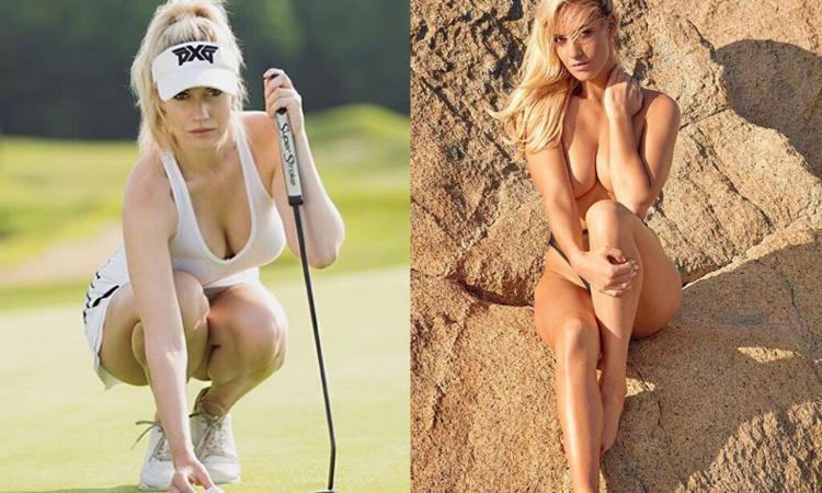 Non solo calcio e Formula 1, c'è anche il golf: con Paige Spinarac si va sempre in buca FOTO