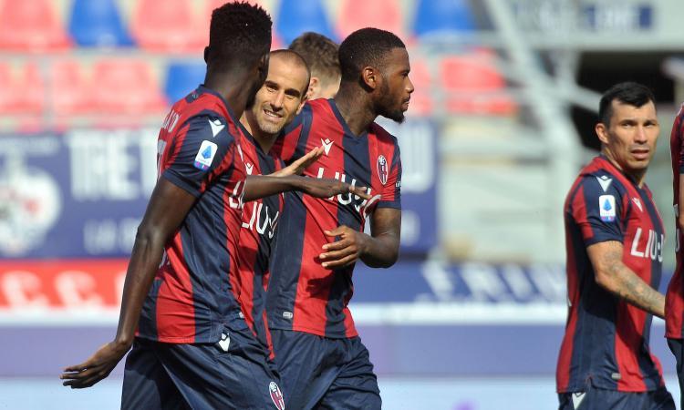 Sampdoria-Bologna 1-2: il tabellino