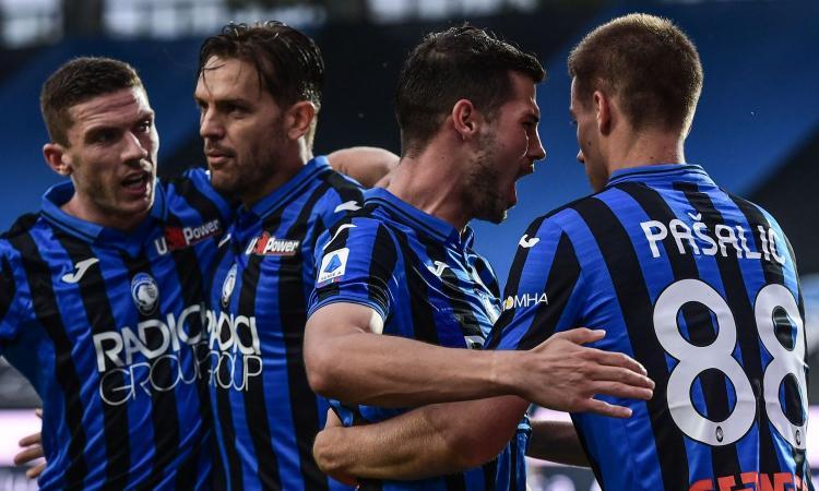 L'Atalanta non si ferma più: settima vittoria di fila e Champions blindata, ora il Napoli è a -15