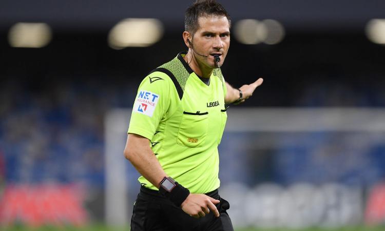 Juve-Verona, arbitra Pasqua con La Penna al Var: la designazione completa