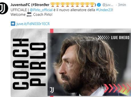 Juve Tutto Lo Staff Che Lavorera Con Pirlo Serie A Calciomercato Com
