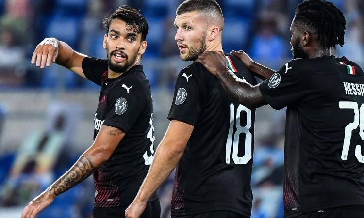 Lazio-Milan 0-3: il tabellino