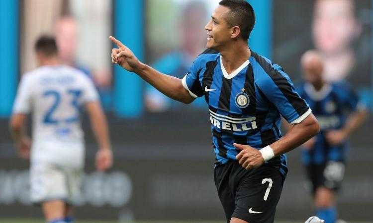 Inter, attesa Sanchez: oggi gli esami, c'è speranza per la finale di Europa League