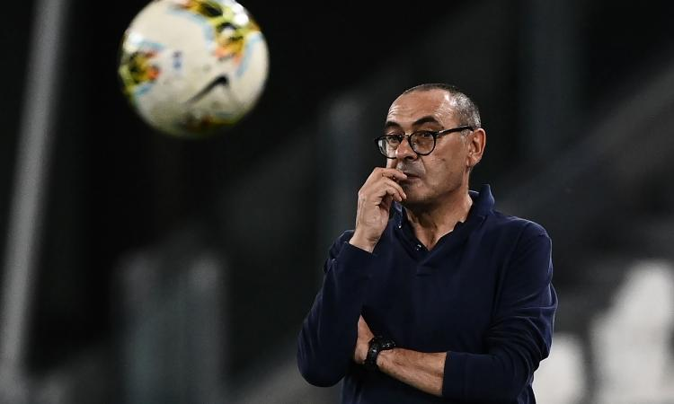 Juve, Sarri: 'Il Lione sta bene, mi ha sorpreso. Ho paura quando la squadra stacca la spina, su Dybala...'