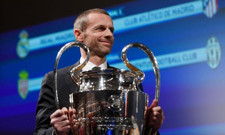 Bloomberg: la Uefa pronta a varare la sua Superlega. Contatti con un fondo inglese, introiti minimi di 4,5 miliardi
