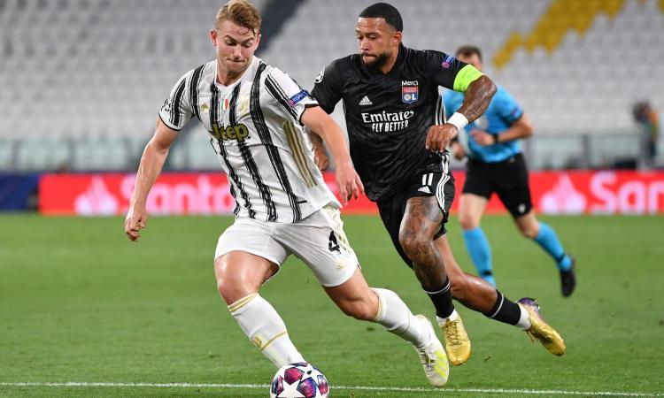 Juve: Alex Sandro fuori un mese, ma la carta De Ligt può cambiare la difesa