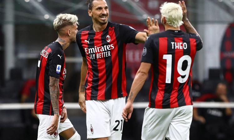 Milan show, 3-0 al Cagliari: segna ancora Ibra, Pioli chiude con il miglior attacco d'Europa post-lockdown