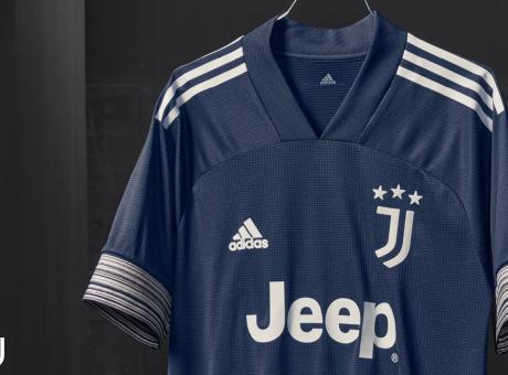 Juve, ecco la seconda maglia: color 'night indigo' con scritte ...