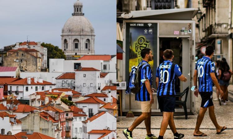 Qui Lisbona, capitale Champions: tra restrizioni, il sogno dell'Atalanta e tifosi della Juve in cerca di vendetta FOTO