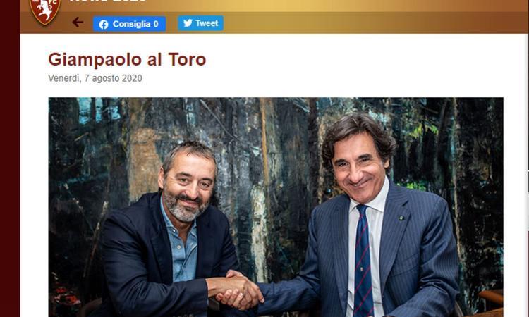 Torino, UFFICIALE l'arrivo di Giampaolo: i dettagli. Il Milan risparmia