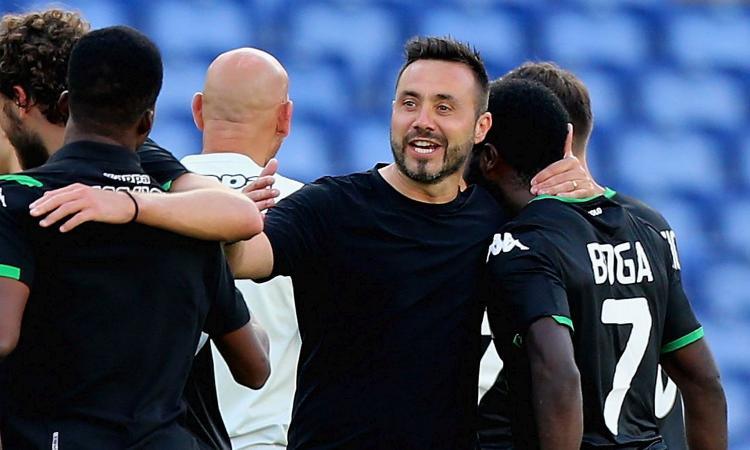 Sassuolo, De Zerbi: 'Stiamo migliorando la fase difensiva, ma potevamo fare di più' VIDEO