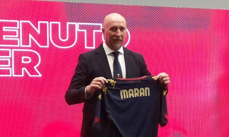 Genoa, Maran si presenta: 'Preziosi mi ha chiesto di non soffrire. Moduli? Conterà l'atteggiamento'