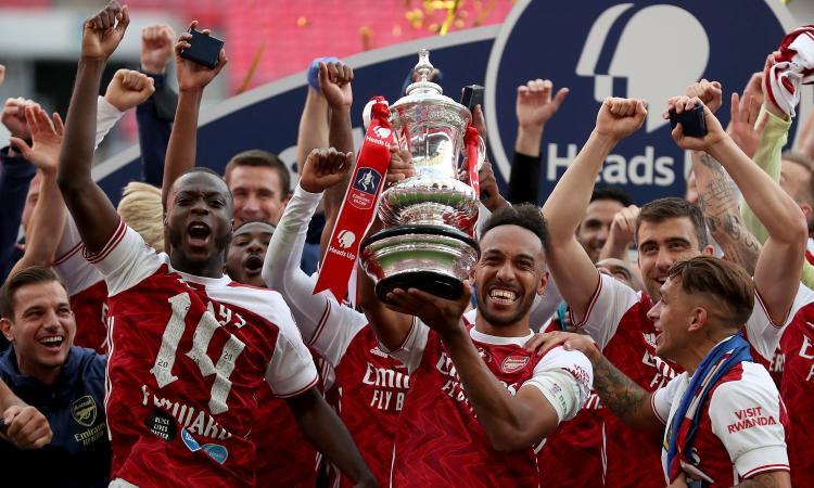 Aubameyang ribalta il Chelsea: l'Arsenal conquista l'FA Cup e si qualifica all'Europa League