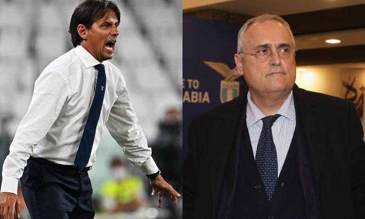 Juve, contatti con Inzaghi: rinnovo con la Lazio in stand-by, ma Lotito vuole dare un segnale forte