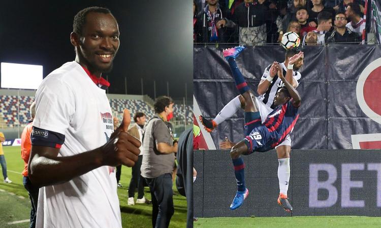 Gol e record col Crotone, Simy a CM: 'La rovesciata con la Juve mi ha cambiato la vita, ma ora non esulto più'