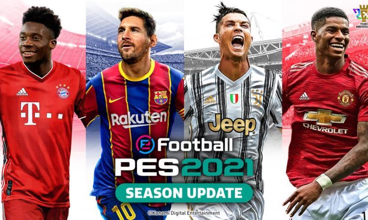 Ecco eFootball PES 2021: tutto quello che c'è da sapere sul Season Update
