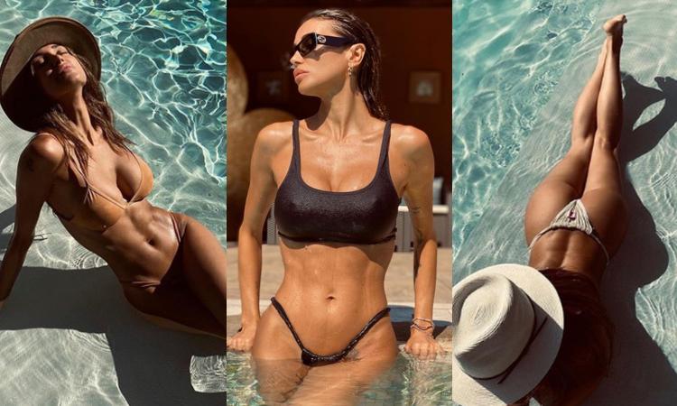 Buccino e Iannone, è già finita: per Cristina estate da single in Sardegna, seno e lato B perfetti FOTO