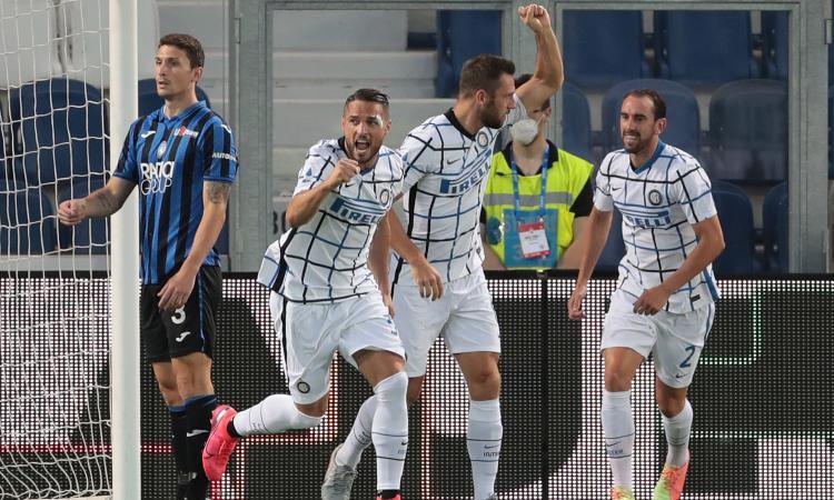 La miglior Inter batte la peggior Atalanta: segnali opposti in chiave Europa