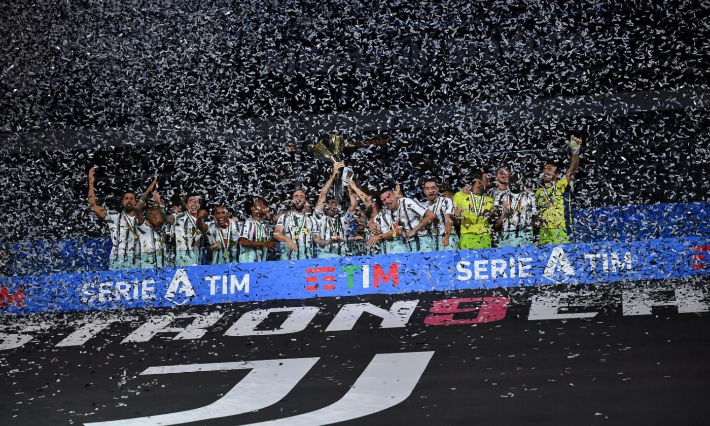 Juve campione d'Italia: la festa scudetto FOTO e VIDEO | Serie A ...
