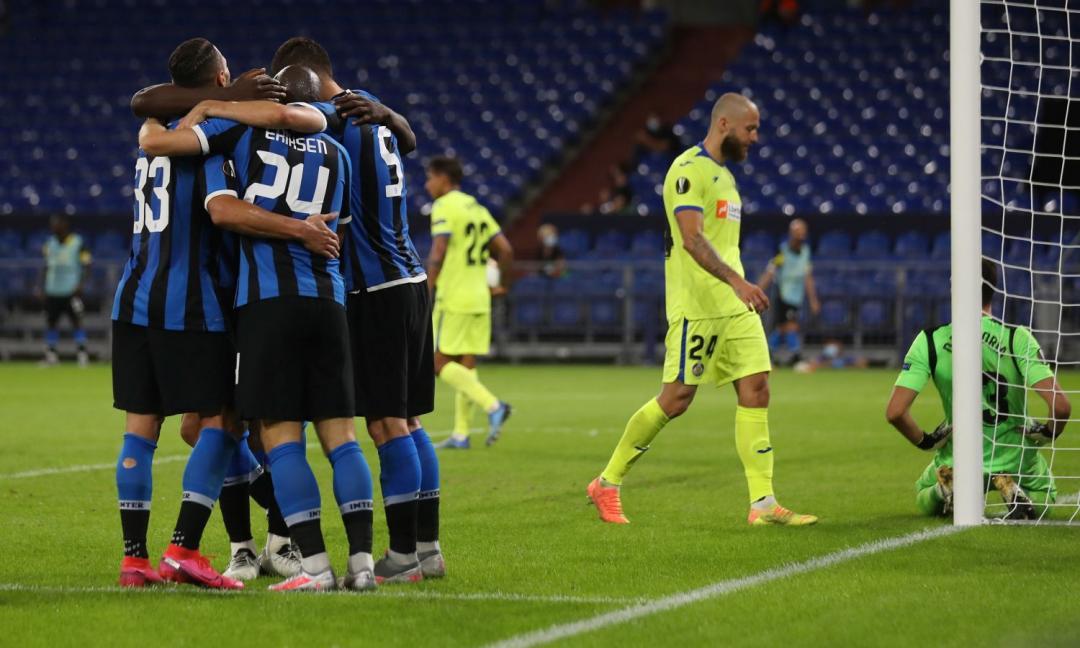 Inter: sistemato il Getafe