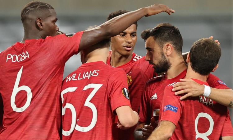 Manchester United, 1-0 al Copenaghen ai supplementari: decide Bruno Fernandes