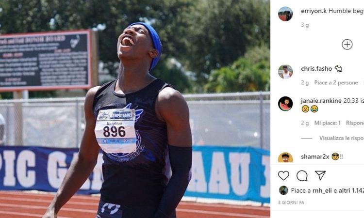 Fenomeno Knighton: a 15 anni corre più veloce di Bolt, ma i soldi del football possono cambiargli il futuro