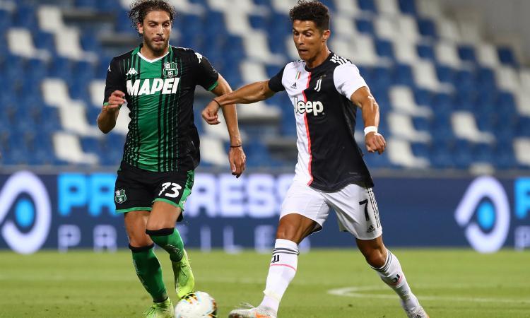 Juvemania: Locatelli, ha vinto la Juve ma il Sassuolo non ha perso. Ronaldo, che fai?