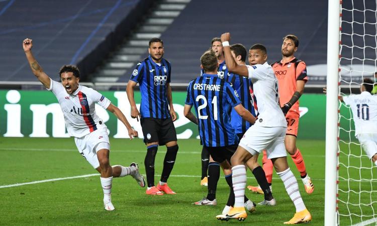 L'Atalanta sogna fino al 90', ma crolla nel finale. Il PSG vince 2-1 e va in semifinale di Champions