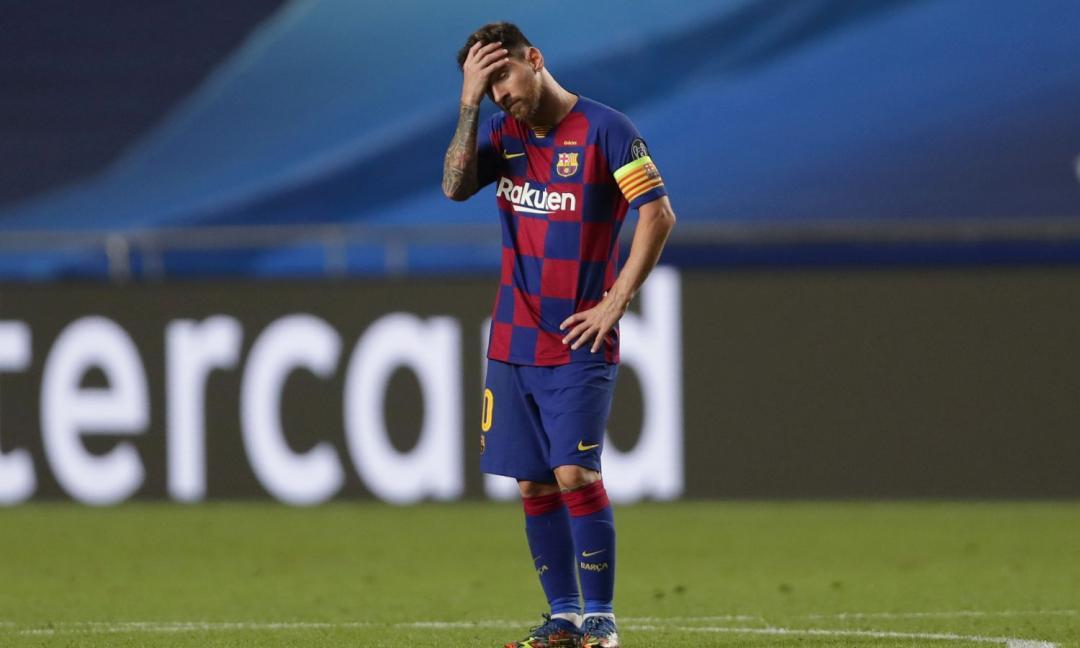 Ecatombe Barcellona... con Messi!