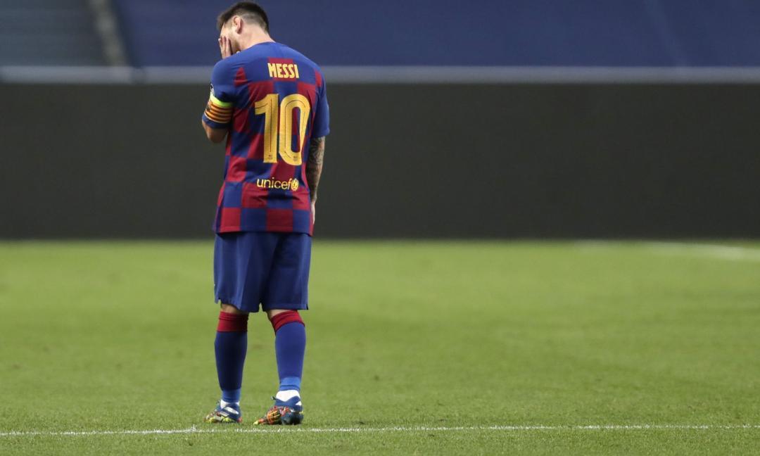 Messi, un dio del calcio caduto dall'Olimpo